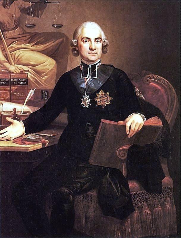Hugo Kołłątaj (Józef Peszka). Wojciech Wiktor Szczygielski