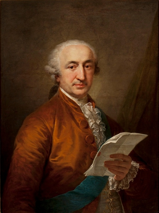 Stanisław Małachowski (Giovanni Lampi). Wojciech Wiktor Szczygielski