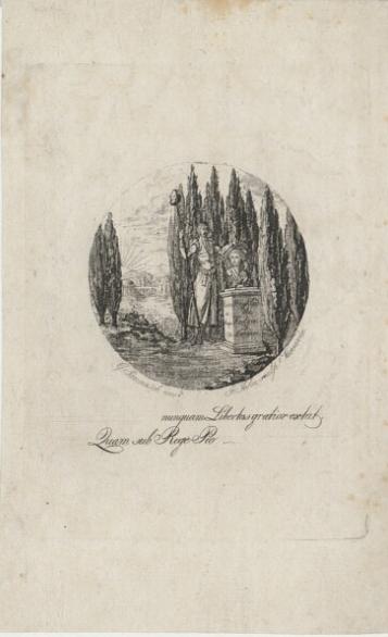 Alegoria Konstytucji 3 maja, akwaforta (Jannasch, Jan Gottlib). Wojciech Wiktor Szczygielski