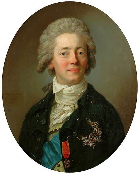 Stanisław Kostka Potocki (Anton Graff), poseł lubelski, czołowy przedstawiciel ugrupowania puławskiego, zasłużony dla obrad Sejmu Wielkiego. Wojciech Wiktor Szczygielski