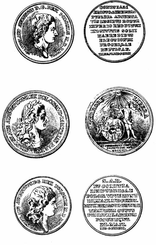 Medale wybite z okazji uchwalenia Konstytucji 3 maja. Wojciech Wiktor Szczygielski
