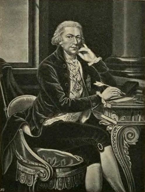 Ignacy Potocki (Grabado). Wojciech Wiktor Szczygielski