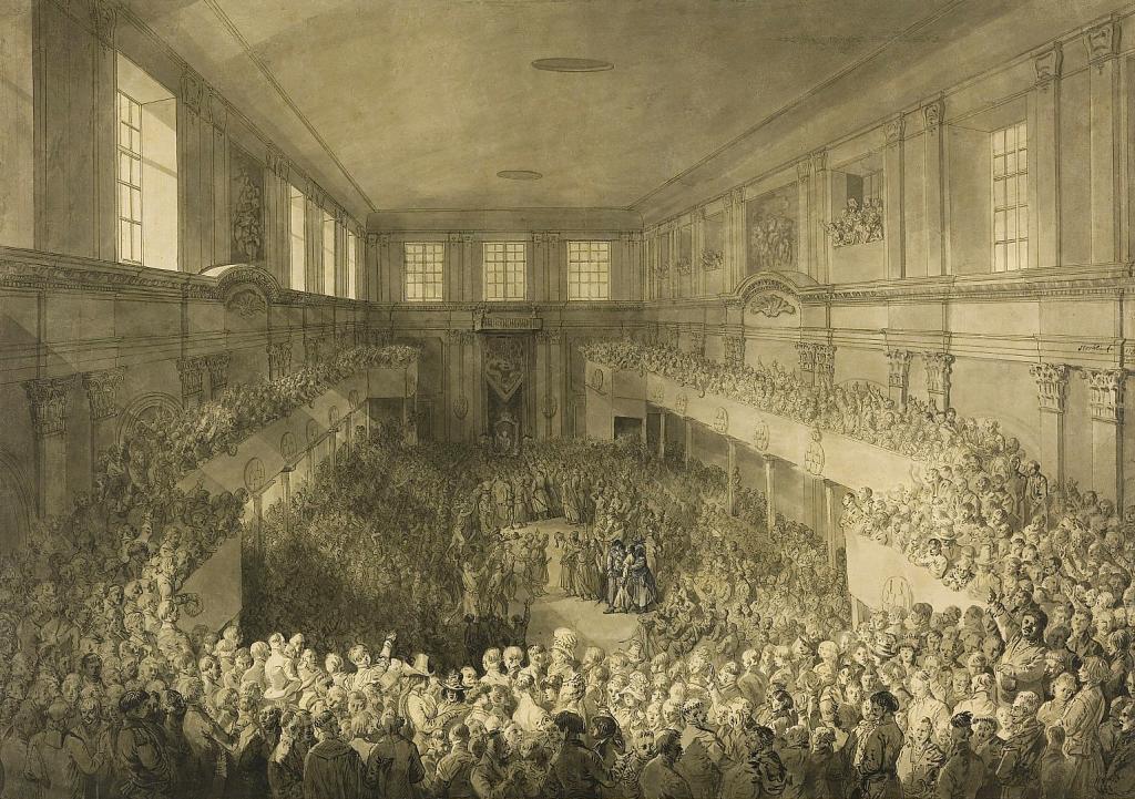 Uchwalenie Konstytucji 3 maja (Jan Piotr Norblin). Wojciech Wiktor Szczygielski