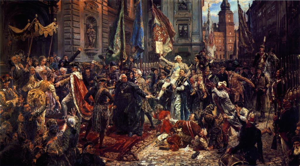 Konstytucja 3 maja (Jan Matejko). Wojciech Wiktor Szczygielski