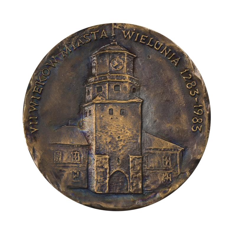 VII wieków Miasta Wielunia 1283-1983. Wojciech Wiktor Szczygielski